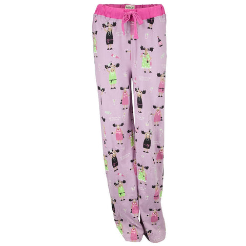 It Moose Be 5 O'Clock Women's Sleep Pants