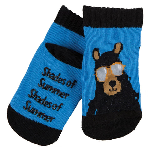 Cool Bear Infant Slipper Socks