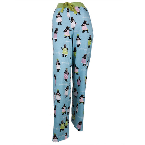 Bear Paws Off Women's Sleep Pants