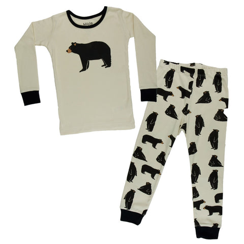 Black Bear Northern Woods Juvy Pajama Set
