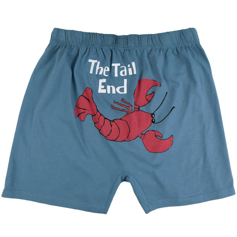 Lobster The Tail End Men's Boxer Shorts