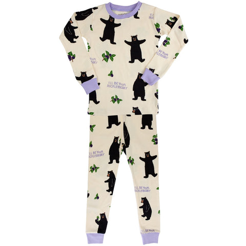 Bear Hucklebeary Juvy Pajama Set