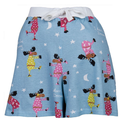 I Moose Be Dreaming Women's Boxer Shorts
