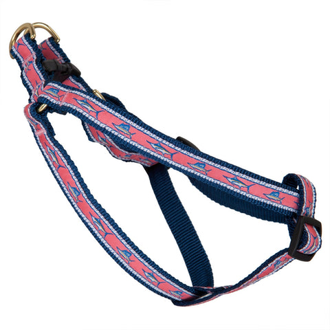 Saltwater Fish Dog Harness