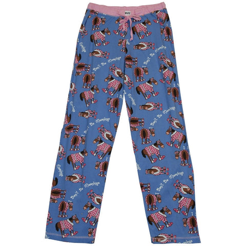 Horse Don't Do Mornings Women's Pajama Pants