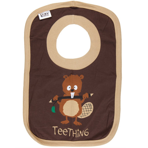 Beaver Teething Bib