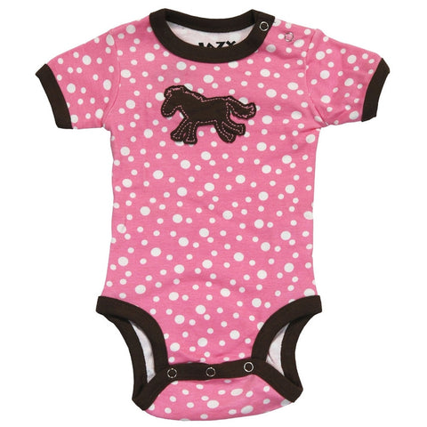 Dotty Horse Baby One Piece