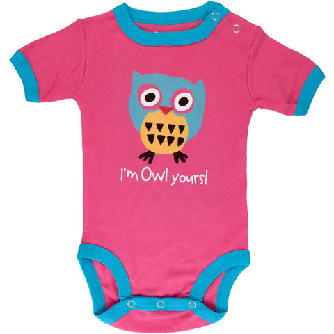 Owl Yours Baby One Piece