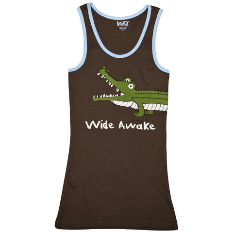 Alligator Wide Awake Juniors Tank Top