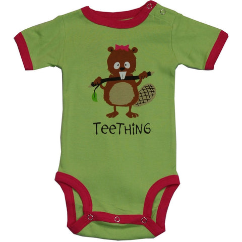 Beaver Teething Baby One Piece