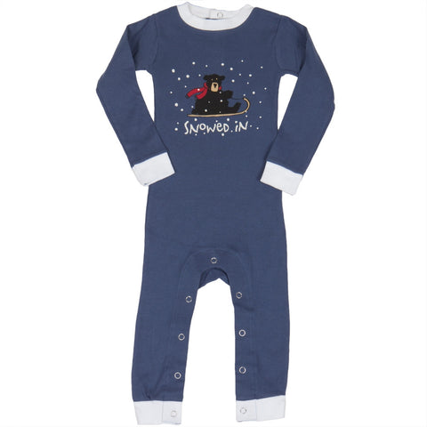 Bear Snowed In Infant Pajamas