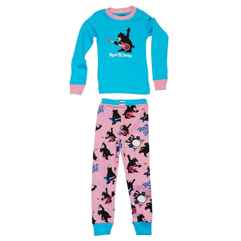 Bear Rock Me to Sleep Toddler Long Sleeve Pajama Set