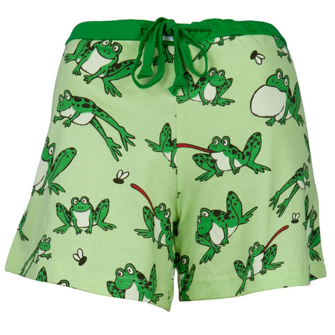 Frog Toadally Tired Juniors Boxer Shorts