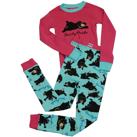 Bearly Awake Toddler Long Sleeve Pajama Set