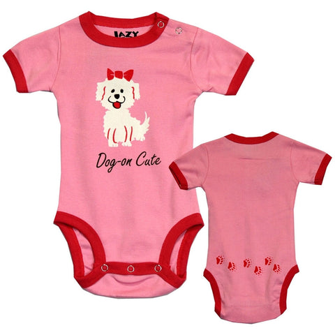 Dog-On Cute Baby One Piece