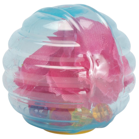 Flower Rattle Cat Ball Toy