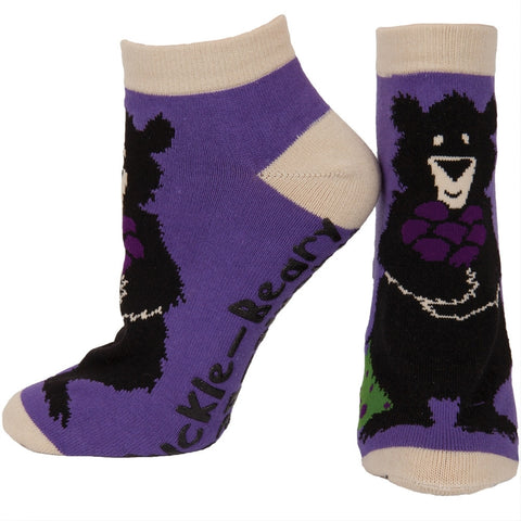 Bear Huckle-Beary Women's Slipper Socks