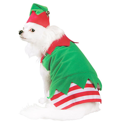 Elf Dog Costume