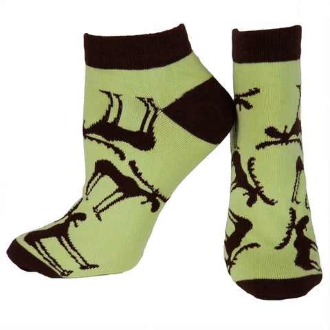 Funky Moose Women's Slipper Socks