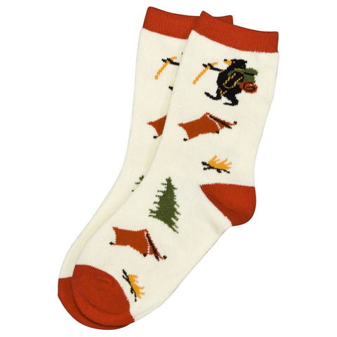 Bear & Moose Happy Camper Socks