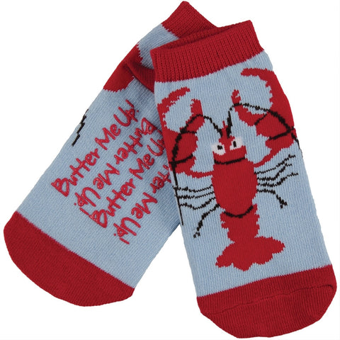 Lobster All-Over Kid's Slipper Socks