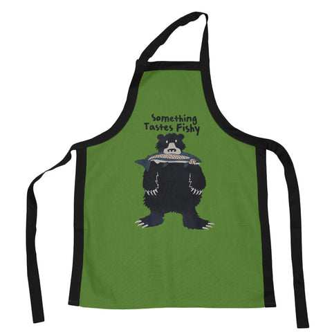 Bear Something Taste Fishy Apron