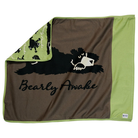 Bear Bearly Awake Pillow Case
