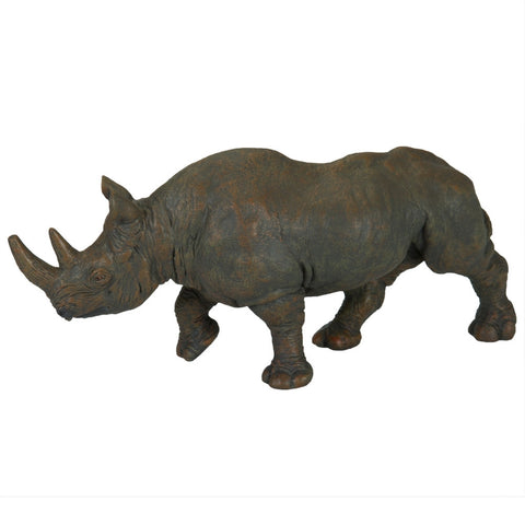 Black Rhinoceros Figurine