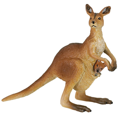 Kangaroo With Joey Figurine