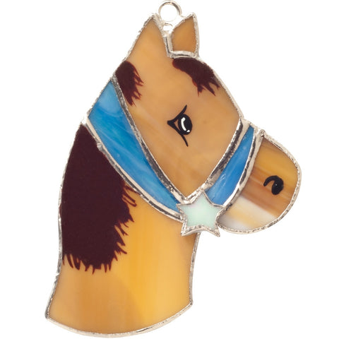 Stained Glass Horse Nightlight Cover