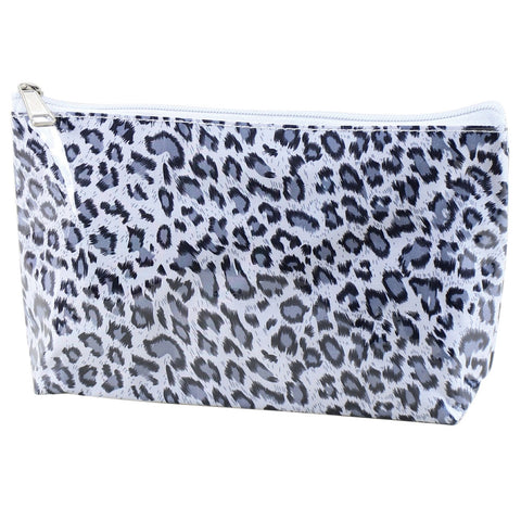 Leopard Print Small Cosmetic Bag