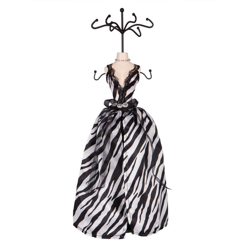 Zebra Print Jewelry Holder