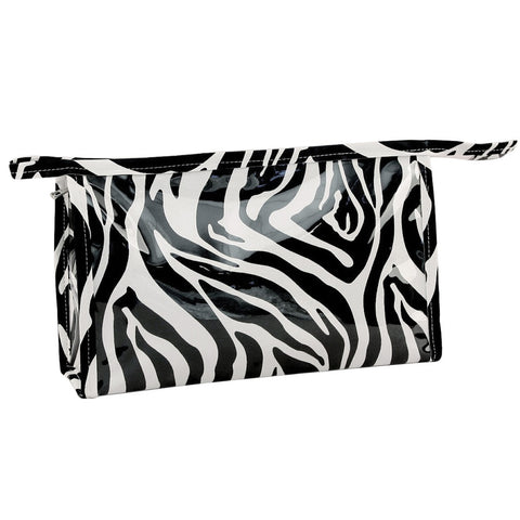 Zebra Medium Cosmetic Bag