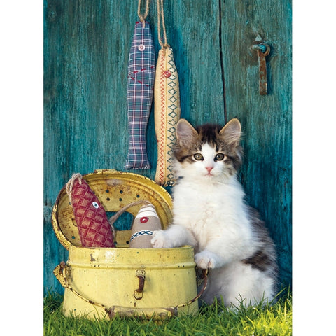The Kitten 500-Piece Jigsaw Puzzle