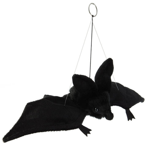 Realistic Replica Plush Flying Black Bat