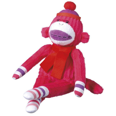 Rosie Mini Pink Plush Monkey