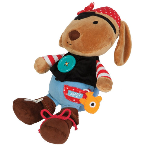 Pirate Puppy Learn to Dress Toy