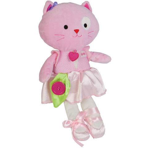 Ballerina Kitty Learn to Dress Toy