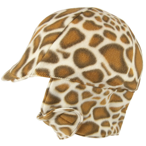 Equestrian Safari Fleece Helmet Cover