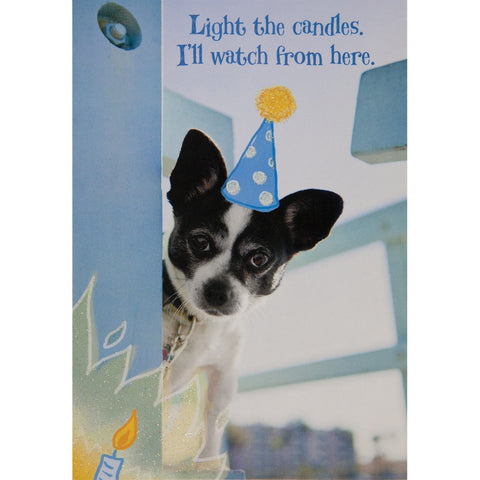 Light The Candles Birthday Greeting Card