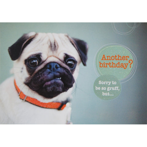 Sorry To So Gruff Birthday Greeting Card