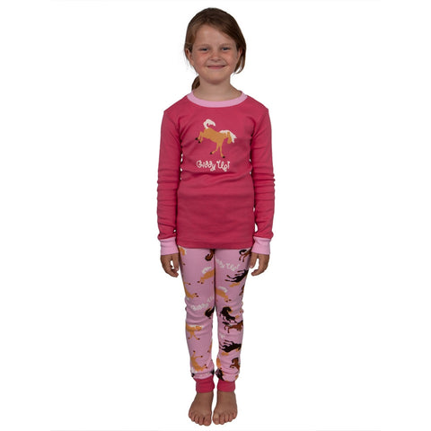 Giddy Up Horse Youth Pajama Set