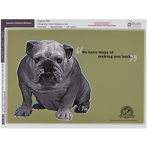 Bulldog Laptop Skins