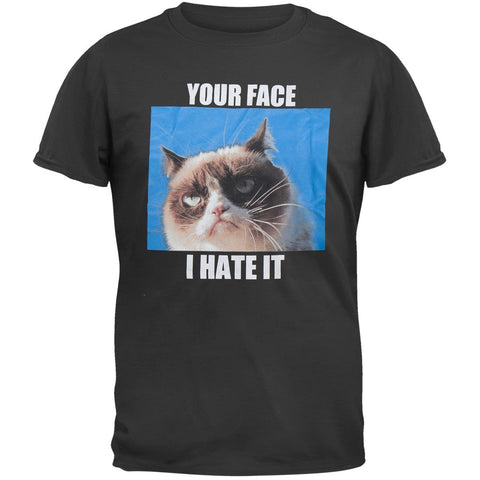 Grumpy Cat - Your Face I Hate It T-Shirt