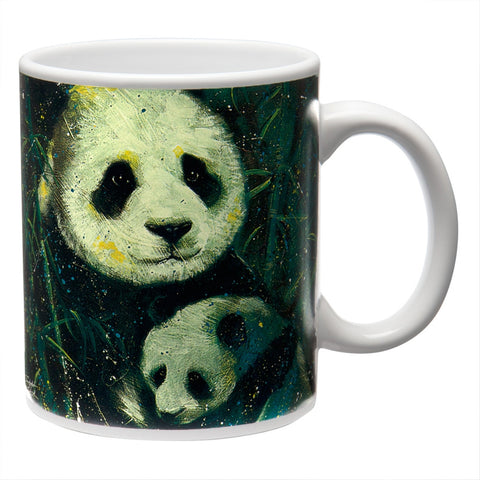 Stephen Fishwick Panda Family Coffee Mug