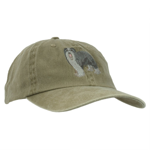 Bearded Collie Adjustable Baseball Cap