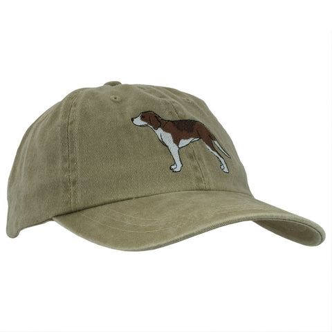 English Foxhound Adjustable Baseball Cap