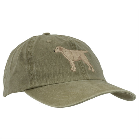 Yellow Labrador Adjustable Baseball Cap
