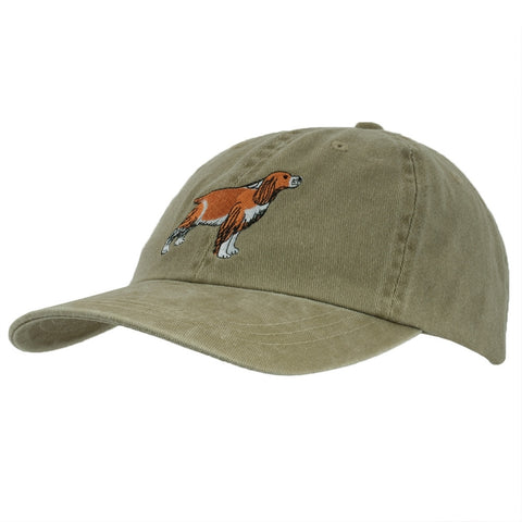 English Springer Spaniel Adjustable Baseball Cap