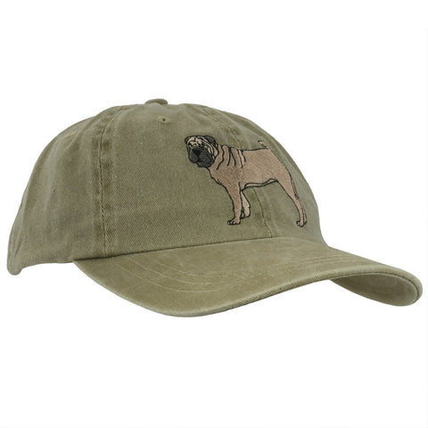 Chinese Shar Pei Adjustable Baseball Cap
